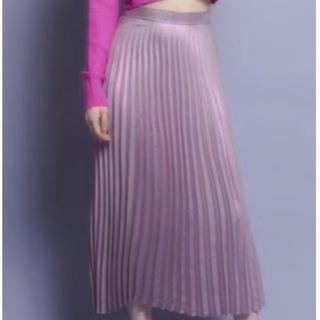 リルリリー(lilLilly)のlillilly ロングプリーツスカート(ロングスカート)