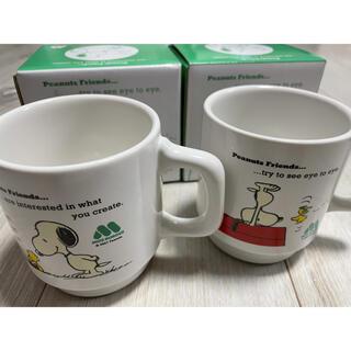 モスバーガー(モスバーガー)の新品 モスバーガー スヌーピー  マグカップ(グラス/カップ)