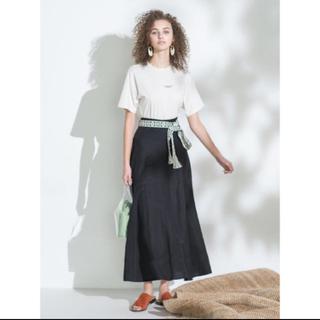 ミラオーウェン(Mila Owen)のミラオーウェン トライバルベルト付スカート(ロングスカート)