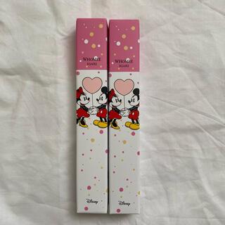 ディズニー(Disney)のWHOMEE ミッキーミニー マットリップクレヨン 血色ピンク ピンキーベージュ(口紅)