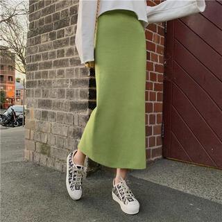アメリヴィンテージ(Ameri VINTAGE)のスリットスカート(ひざ丈スカート)