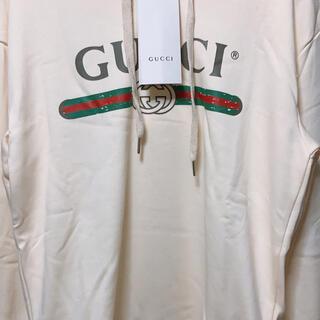 Gucci - GUCCI パーカー ホワイト