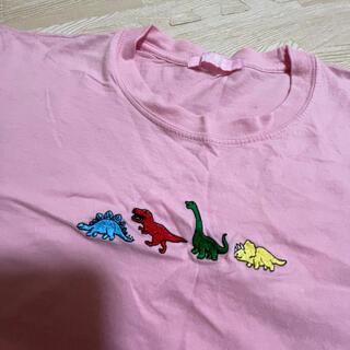 ダブルシー(wc)のTシャツ 恐竜 WC(Tシャツ(半袖/袖なし))