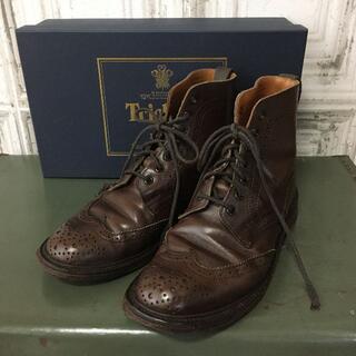 トリッカーズ(Trickers)のイングランド製 Tricker's×SHIPS ブーツ USED(ブーツ)