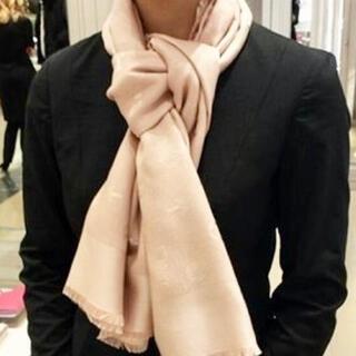 "Christian Dior - ディオール ストール""SO DIOR"" ピンク"