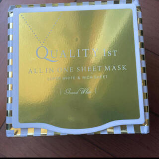 QUALITY FIRST - quality1st フェイスシート