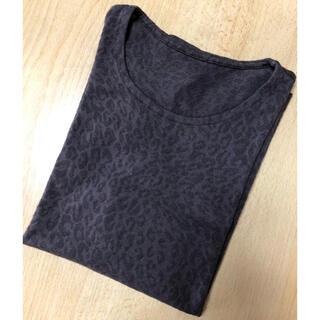シャルレ(シャルレ)のシャルレ 豹柄Tシャツ(Tシャツ(長袖/七分))