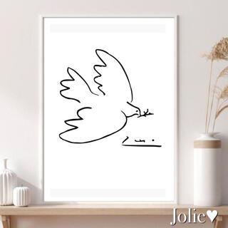391 インテリアポスター フォトフレーム アートポスター 韓国 マティス(ポスターフレーム)