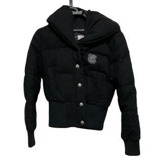 コーチ(COACH)のコーチ サイズ2 S レディース - 黒 長袖/冬(ダウンジャケット)