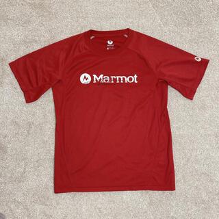 MARMOT - マーモット メッシュ素材 ロゴTシャツ
