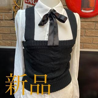 ピンクラテ(PINK-latte)の新品ピンクラテベストセット定価4515円サイズS(ベスト/ジレ)