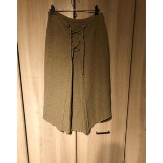 アパルトモンドゥーズィエムクラス(L'Appartement DEUXIEME CLASSE)のKristenseN DU NORDデザインスカート(ひざ丈ワンピース)