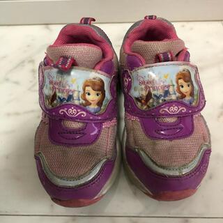 ディズニー(Disney)の光る靴 15センチ(スニーカー)