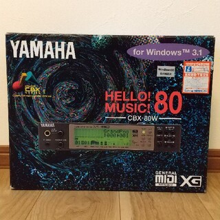 ヤマハ(ヤマハ)のYAMAHA CBX-80W(MU80)(音源モジュール)