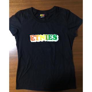 シュプリーム(Supreme)の週末値下 ETNIES エトニーズ ライン綺麗なブランドロゴ Tシャツ(Tシャツ(半袖/袖なし))