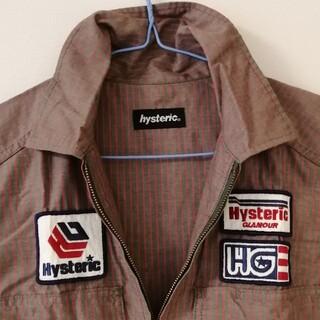 ヒステリックグラマー(HYSTERIC GLAMOUR)のヒステリックグラマー フルジップシャツ(シャツ/ブラウス(半袖/袖なし))