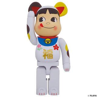 メディコムトイ(MEDICOM TOY)の【購入承認制】 BE@RBRICK 招き猫 ペコちゃん 福 1000%(キャラクターグッズ)