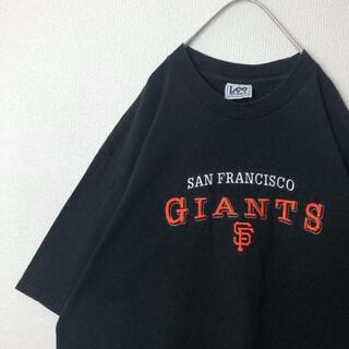 アイスクリーム(EYESCREAM)の90's 古着 Lee Sports Tシャツ 刺繍 サンフランシスコ(Tシャツ/カットソー(七分/長袖))