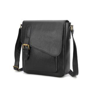 LZA002 本革  ライチ模様付き  ショルダー バッグ メッセンジャーバッグ(メッセンジャーバッグ)