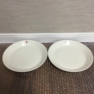 イッタラ(iittala)の【新品】イッタラ ティーマ ホワイト 白 プレート21cm 2枚(食器)