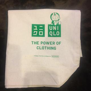 ユニクロ(UNIQLO)のユニクロ ドラえもん 非売品 エコバッグ 未使用品(キャラクターグッズ)