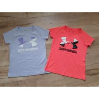 アンダーアーマー(UNDER ARMOUR)のアンダーアーマー Tシャツ2点セットYSM130cm 運動会(Tシャツ/カットソー)