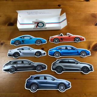 ポルシェ(Porsche)の創業70周年記念 ポルシェステッカー 7枚(ノベルティグッズ)