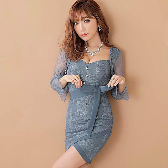 dazzy store(デイジーストア)の【dazzystore】レースドレス レディースのフォーマル/ドレス(ナイトドレス)の商品写真