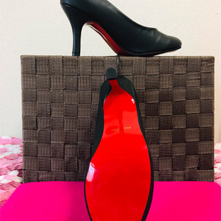 🧏♀️走れるハイヒール👠ピンヒール9cm3L大きい靴❣️(ハイヒール/パンプス)