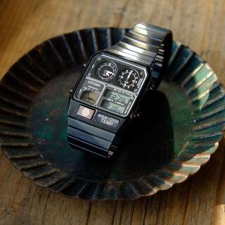 シチズン(CITIZEN)のCITIZEN  ANA-DIGI TEMP アナデジテンプ(腕時計(デジタル))