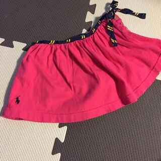 ラルフローレン(Ralph Lauren)の3T ラルフローレン パンツ付きスカート(スカート)