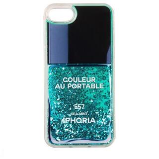 アイフォリア(IPHORIA)の新品IPHORIA おしゃれ ターコイズ iphoneSE/8/7ケース(iPhoneケース)