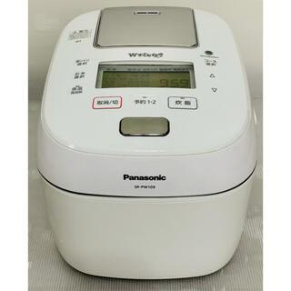 パナソニック(Panasonic)のパナソニック 炊飯器 可変圧力IH式 Wおどり炊き SR-PW109-W(炊飯器)