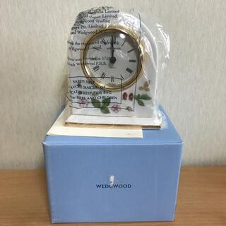 ウェッジウッド(WEDGWOOD)のウェッジウッド クロック(置時計)