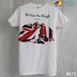 アーバンアウトフィッターズ(Urban Outfitters)のグラフィック Tシャツ 60's 英国のロックバンド ザ・フー ベイ アイランド(Tシャツ/カットソー(半袖/袖なし))