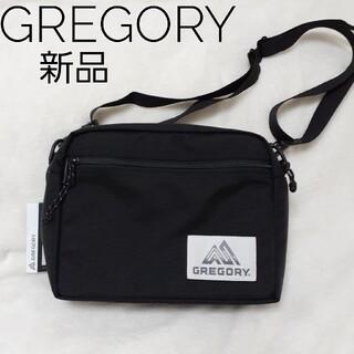 Gregory - 新品 GREGORY ショルダーバッグ BLACK ユニセックス
