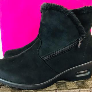 🧏♀️ムートン🥾ショートブーツ❣️エア入り走れる靴🥰LL(ブーツ)
