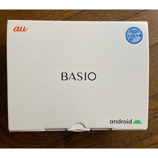 エーユー(au)のau BASIO4 ロイヤルブルー(KYV47SLA)(スマートフォン本体)