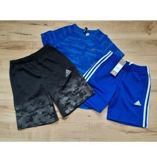 アディダス(adidas)の新品ありadidasアディダス Tシャツ&ハーフパンツ3点セット150cm運動会(その他)