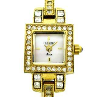 アビステ(ABISTE)のアビステ - レディース ホワイトシェル(腕時計)
