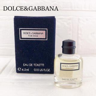 ドルチェアンドガッバーナ(DOLCE&GABBANA)の新品 ドルチェ&ガッバーナ プール オム  オードトワレ 香水 男性 4.5ml(香水(男性用))