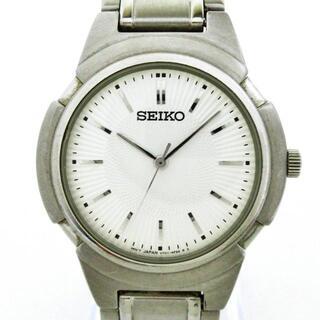 セイコー(SEIKO)のセイコー - V701-2K80 メンズ シルバー(その他)