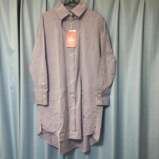 ヴィヴィアンウエストウッド(Vivienne Westwood)の新品未使用 長袖ブラウス ラブチュニック ワンピース(シャツ/ブラウス(長袖/七分))