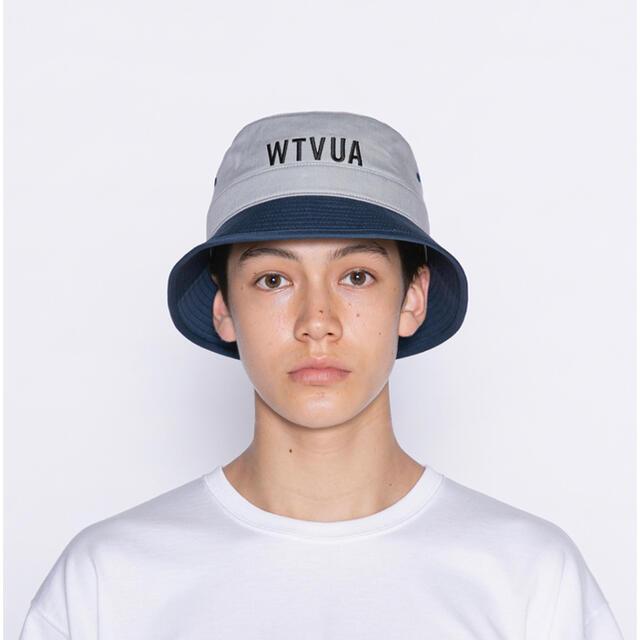 W)taps(ダブルタップス)の21SS WTAPS BUCKET 02 NAVY XLサイズ メンズの帽子(ハット)の商品写真