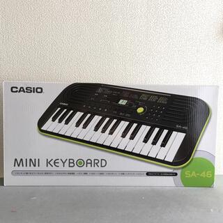 カシオ(CASIO)のCASIO ミニキーボード SA-46(キーボード/シンセサイザー)