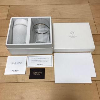 MIKIMOTO - 【ベアグラス】MIKIMOTO  Internatioal  プラチナ グラス