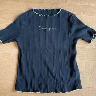 マウジー(moussy)のmoussy トップス(カットソー(半袖/袖なし))