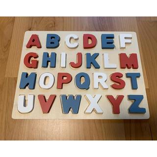 スリーコインズ(3COINS)の3coins ABCパズル(知育玩具)