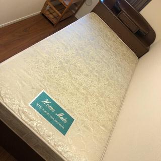 ニトリ(ニトリ)の収納たっぷり マットレス付き シングルベッド(シングルベッド)