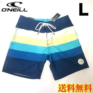 オニール(O'NEILL)の【新品】オニール メンズ ボードショーツ 水着 ネイビー 32(水着)